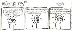The fear. | 24 Comics That Capture The Frustration Of Anxiety Disorders