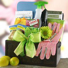 Spring Madness  Gardening Gift Basket