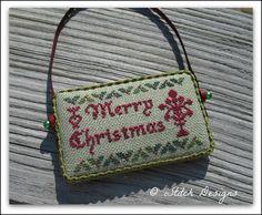 iStitch Designs 2012 Christmas freebie