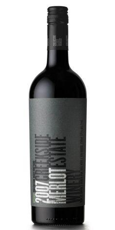Creekside Estate Winery - 2007 Reserve Merlot - My favourite merlot!