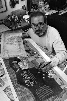 Maurice Sendak - author of Where the Wild Things Are.