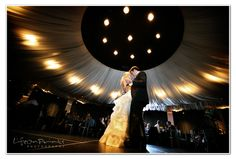 The elegance of the ballroom dance floor at the W Chicago Lakeshore makes an incredible backdrop for the first dance. Life on Prints Photography.