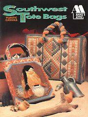 Plastic Canvas - Southwest Tote Bags - #A87K26