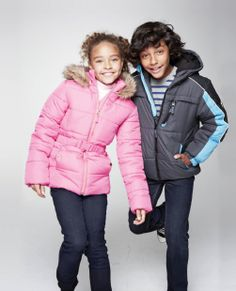 SNEAK PEEK: $16.99 Protection System and Vertical 9 Puffer Jackets for Girls, Boys and Infants