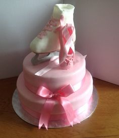 Ice Skating and Ballet Birthday Cake