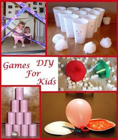 A Listing of Fun DIY Games for Kids