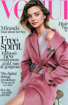 Vogue Australia July 2014   Miranda Kerr by Nicole Bentley