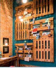 Veja uma decoração INCRÍVEL feita com paletes de madeira | Creative