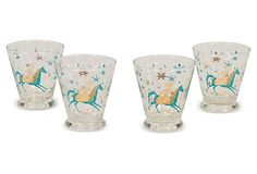 carnival shot glasses :: drew barrymore's personal collection on OKL