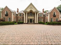 Georgian mansion, Saddle River, New Jersey