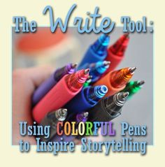 Witness the power of the colored pen in sparking your child's creativity! See our #LearningToolkit blog for details.