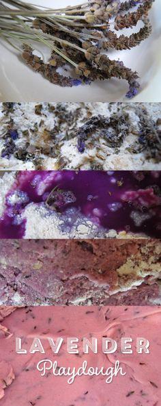 Lavender playdough recipe