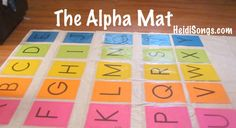 Alpha Mat from HeidiSongs alpha mat