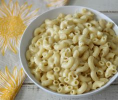 Lightened Up Macaroni and Cheese - Creamy, cheesy, quick, lightened up homemade macaroni and cheese.