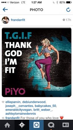 PIYO home workout -