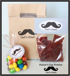 Dad's stash printables for Father's Day