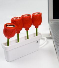 Tulips USB hub.