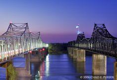 hometown vicksburg, mississippi river, bridg vicksburg, river bridg, vicksburg mississippi