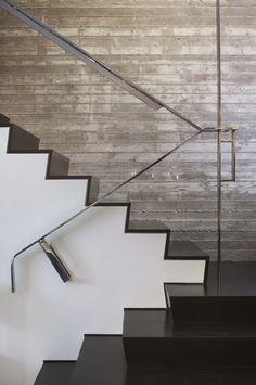 Escaliers en noir et blanc