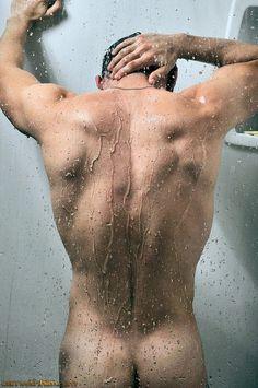 showers, eye candi, bodi, michael fitt, sexi, wet, shower time, men, boy