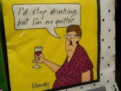 I'm no quitter