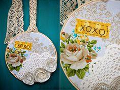 diy {embroidery hoop art}