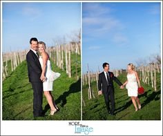 Take pictures out in the vineyard!