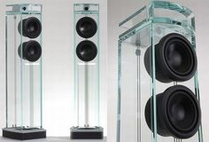 7 Sleek glass speakers for crystal-clear sound