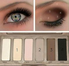 Ideas For Eye Make up...