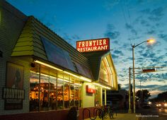 Frontier Restaurant, Albuquerque, New Mexico. I ate many breakfasts post night shift at this iconic restaurant.
