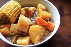Sancocho (Puerto Rican Beef Stew). Looks so good!