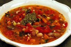 Recipe for Kuleto's in San Francisco serves the best minestrone ever!