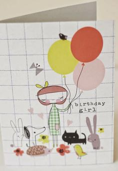 Jilly has designed for Paperchase, Galision, and Madison Park greetings amongst others but she also has her own range of cards and notebooks...