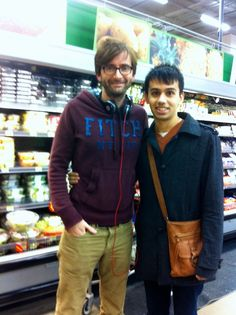 "- I was in Walmart and I saw a guy who looked like the Tenth Doctor. So I stalked him through Produce, got close to him and nervously asked ""Excuse me, Mr. Tennant?"" -"