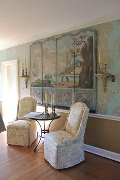 Sitting Room, Designer Lisa Allen Kahn, Adamsleigh Show House