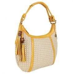 Big Buddha Casandra Bag. I always like that yellow color. $40.00 very roomy