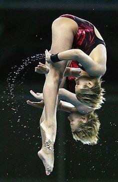 women's synchronized diving