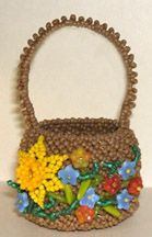 Beaded Easter/Flower Basket Pattern at Sova-Enterprises.com