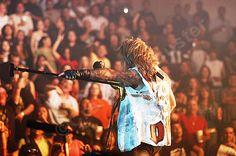 A #photo of Vince Neil on the Motley Crue COS tour in Hildalgo Tx 2005 #RIPMotleyCrue #TheFinalTour #VinceNeil