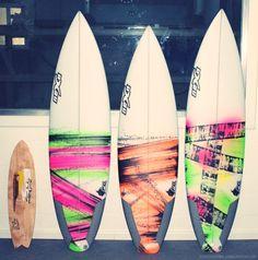 we ♥ colours    tabla skate y tablas de surf by Nexo  skateboard and shortboards by Nexo