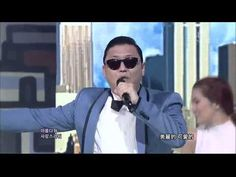 【HD繁中字】120715 PSY - GANGNAM STYLE ( 江南 Style ) @ Comeback Stage