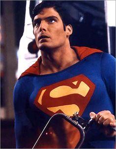 Superman. Clark Kent. (Christopher Reeve)