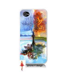 Unique Tree iphone 4 case, geekery, Iphone case, Iphone 4s case, Iphone 4 cover, i phone case, i phone 4s case.via Etsy.
