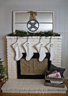 Christmas Mantel & T