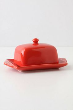 Tea And Toast Butter Dish #anthropologie