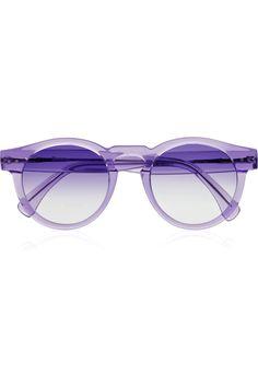 | Leonard round-frame sunglasses