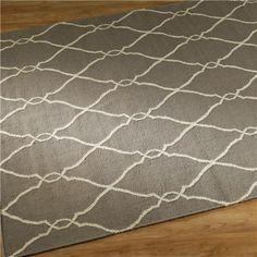 Soho Dhurri Rug: gray; 8x11; $605