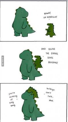 Not sure if cartoon T-Rex but too cute to vote not-T-Rex