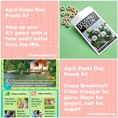 20 Ways to Get Them Good on April Fool's Day
