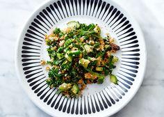 "Crispy Brown Rice ""Kabbouleh"" Recipe - Bon Appétit"